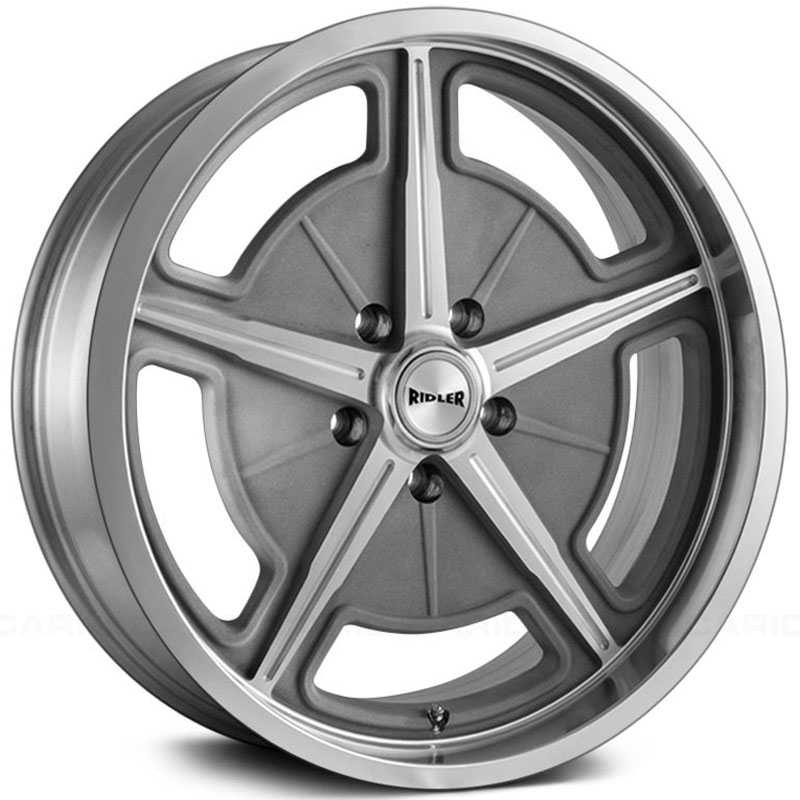 Ridler 605  Wheels Cast With Machined Spokes & Lip
