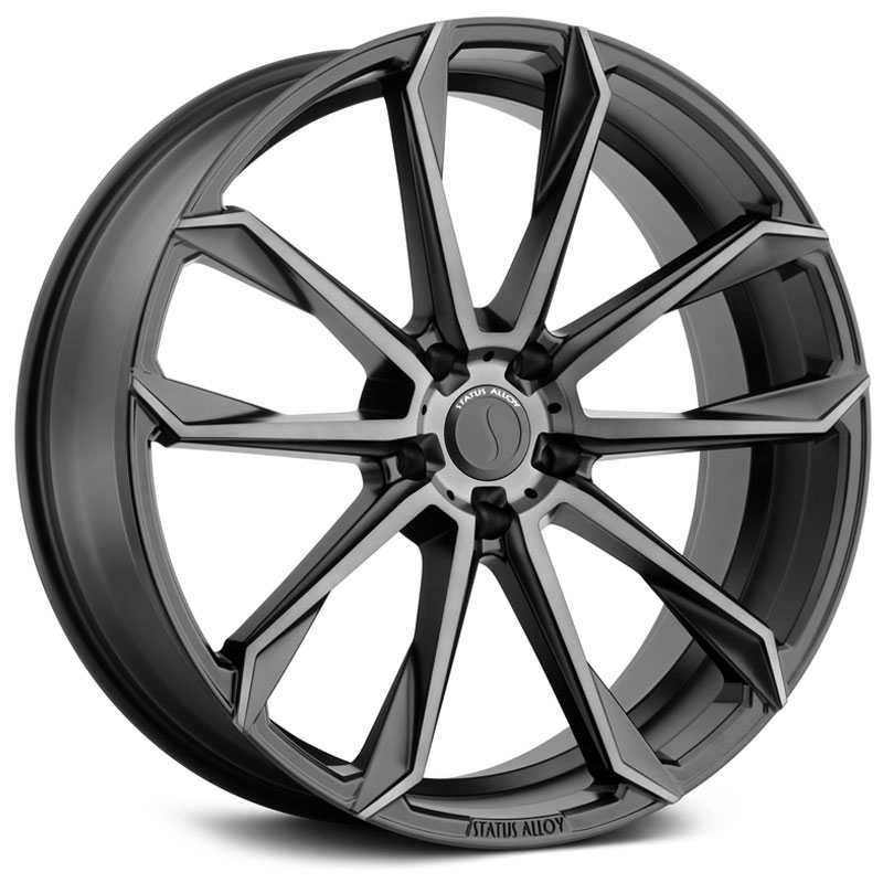 Status S846 Mastadon 5  Wheels Carbon Graphite