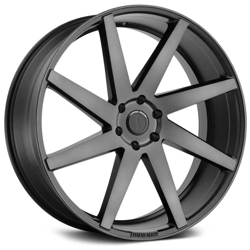 Status S840 Brute  Wheels Carbon Graphite