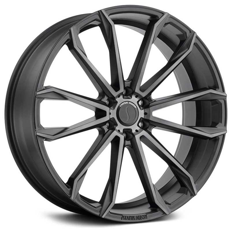 Status S847 Mastadon 6  Wheels Carbon Graphite