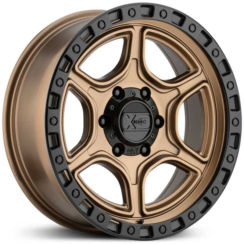 XD Series XD139 Portal  Wheels Satin Bronze w/ Satin Black Lip