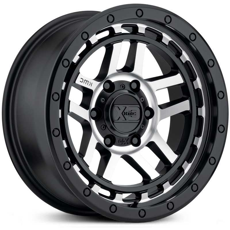 XD Series XD140 Recon  Wheels Satin Black Machined