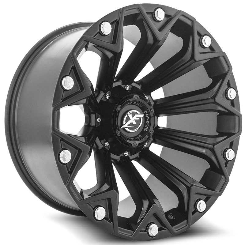 XF Offroad XF-212  Wheels Satin Black