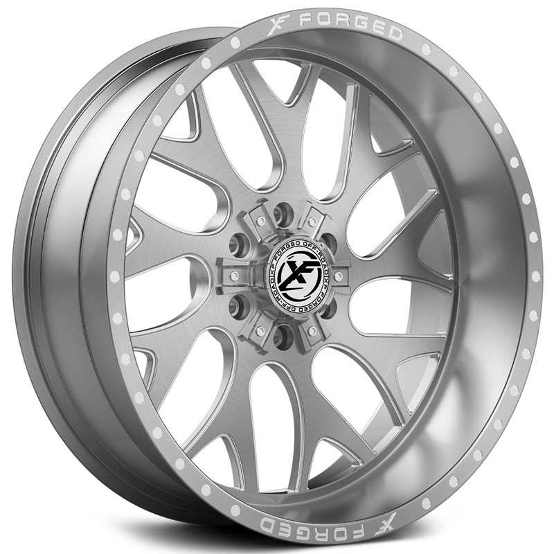 XF Offroad Forged XFX-301  Wheels Brushed Milled