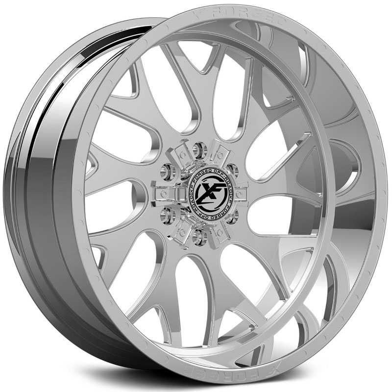 XF Offroad Forged XFX-301  Wheels Chrome