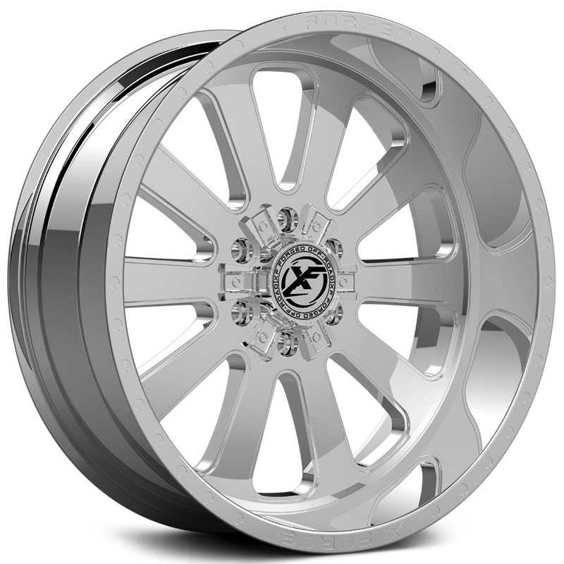 XF Offroad Forged XFX-302  Wheels Chrome