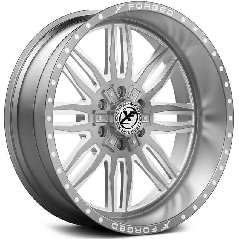 XF Offroad Forged XFX-303  Wheels Brushed Milled