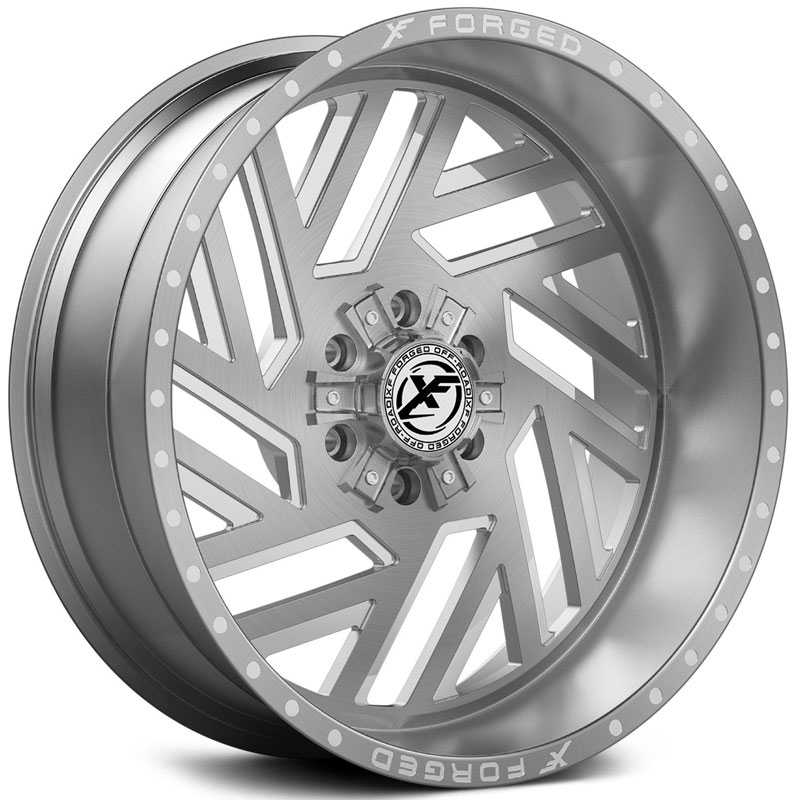 XF Offroad Forged XFX-304  Wheels Brushed Milled