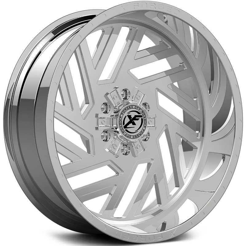 XF Offroad Forged XFX-304  Wheels Chrome