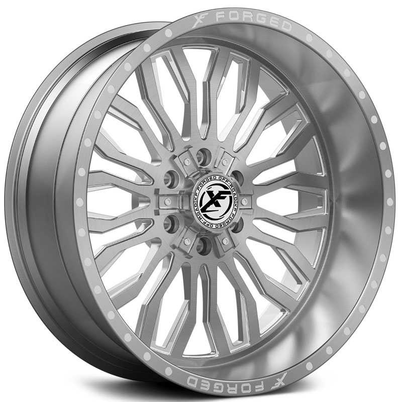 XF Offroad Forged XFX-305  Wheels Brushed Milled