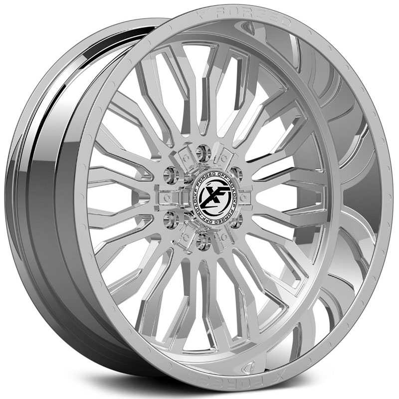 XF Offroad Forged XFX-305  Wheels Chrome