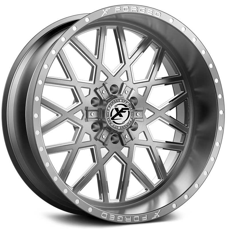 XF Offroad Forged XFX-307  Wheels Brushed Milled