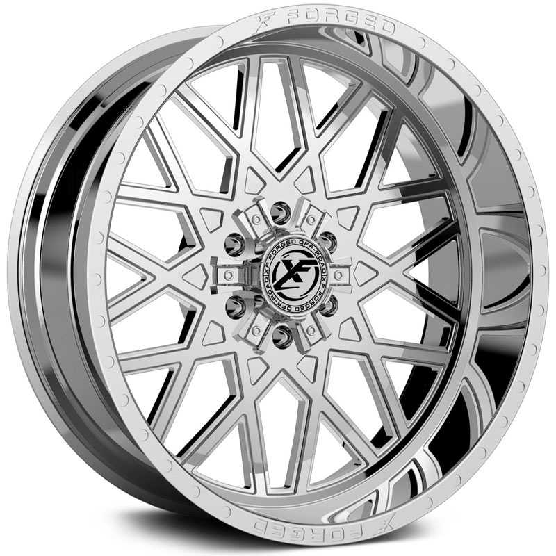 XF Offroad Forged XFX-307  Wheels Chrome
