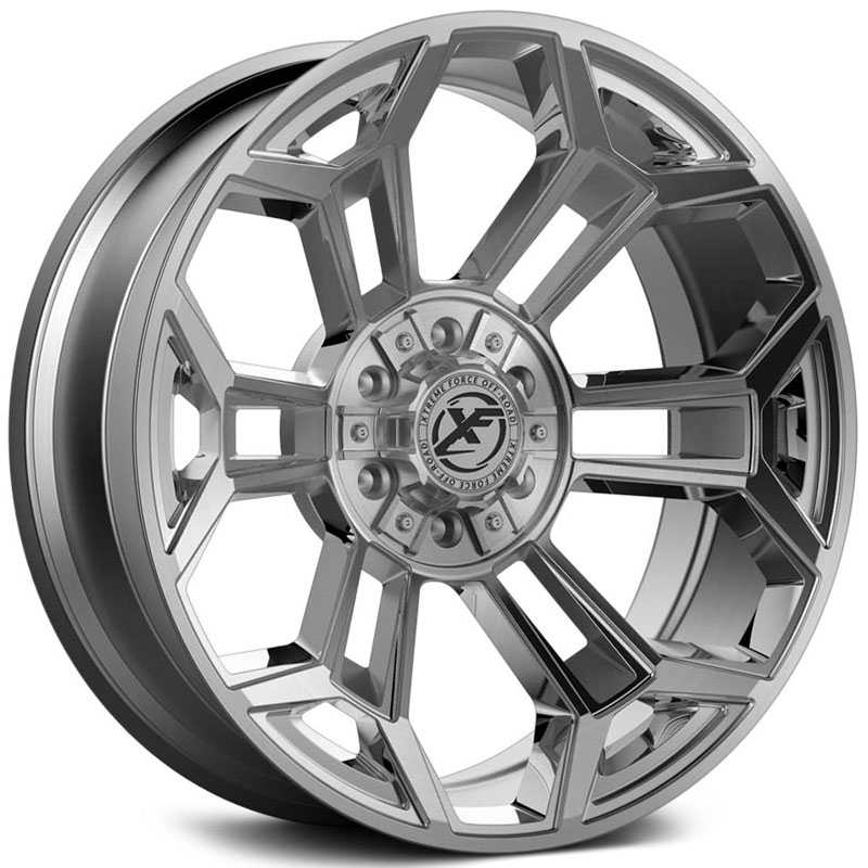 XF Offroad Forged XFX-308  Wheels Brushed Milled
