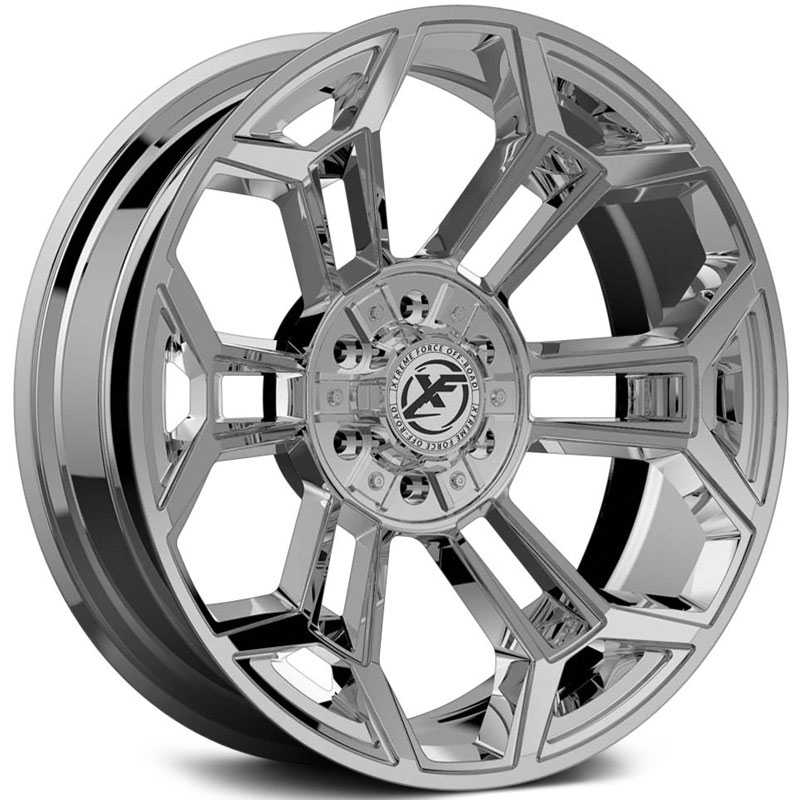 XF Offroad Forged XFX-308  Wheels Chrome
