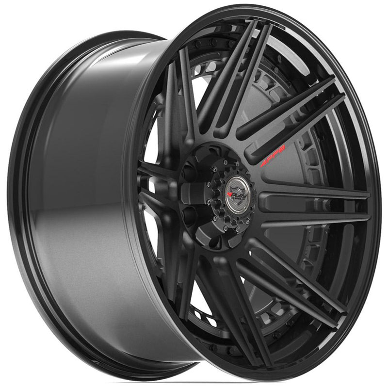 4PF8 Gloss Black w/ Matte Center