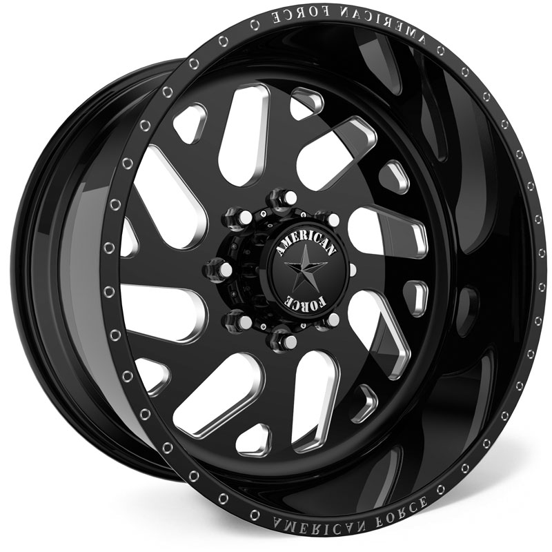American Force D07 Camber SS8  Wheels Black