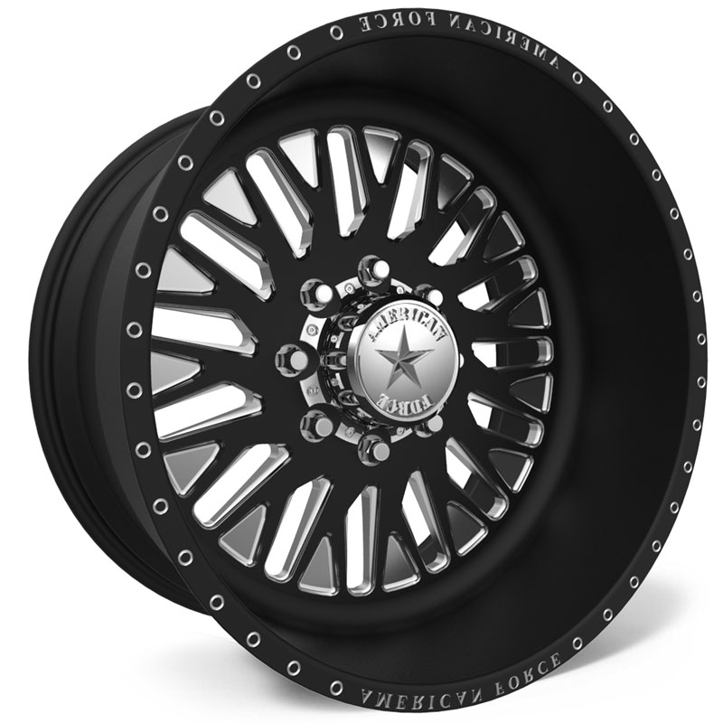 American Force F101 Rapid SS8  Wheels Black
