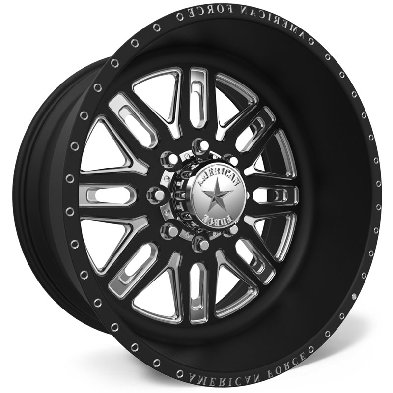 American Force F103 Ruckus SS6  Wheels Black