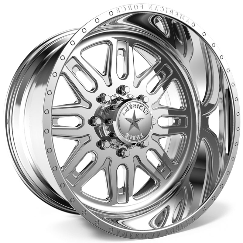 American Force F103 Ruckus SS6  Wheels Polished