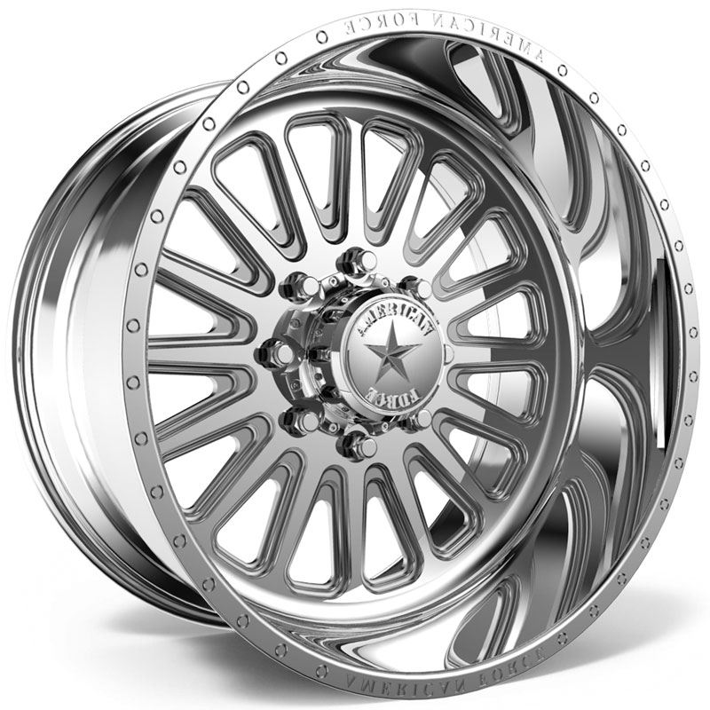 26x14 American Force Wheels F107 Idol SS5 Polished REV