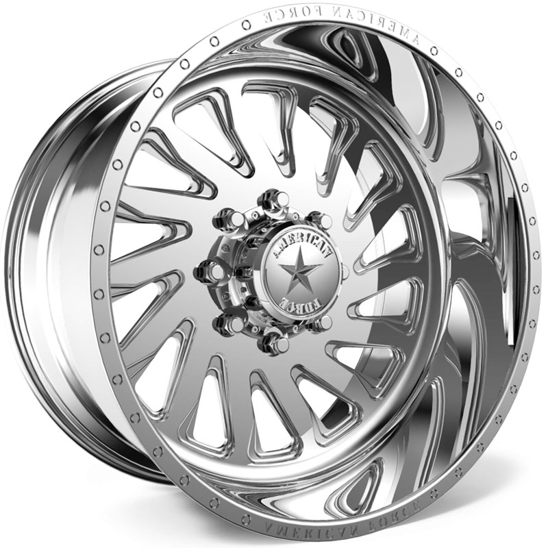 American Force F108 Switch SS6  Wheels Polished