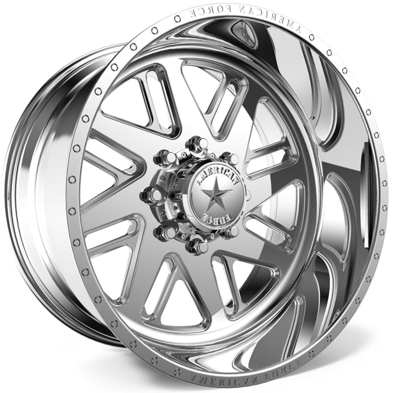 American Force F109 Lift SS5  Wheels Polished