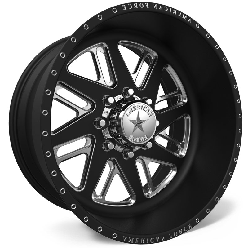 American Force F109 Lift SS8  Wheels Black