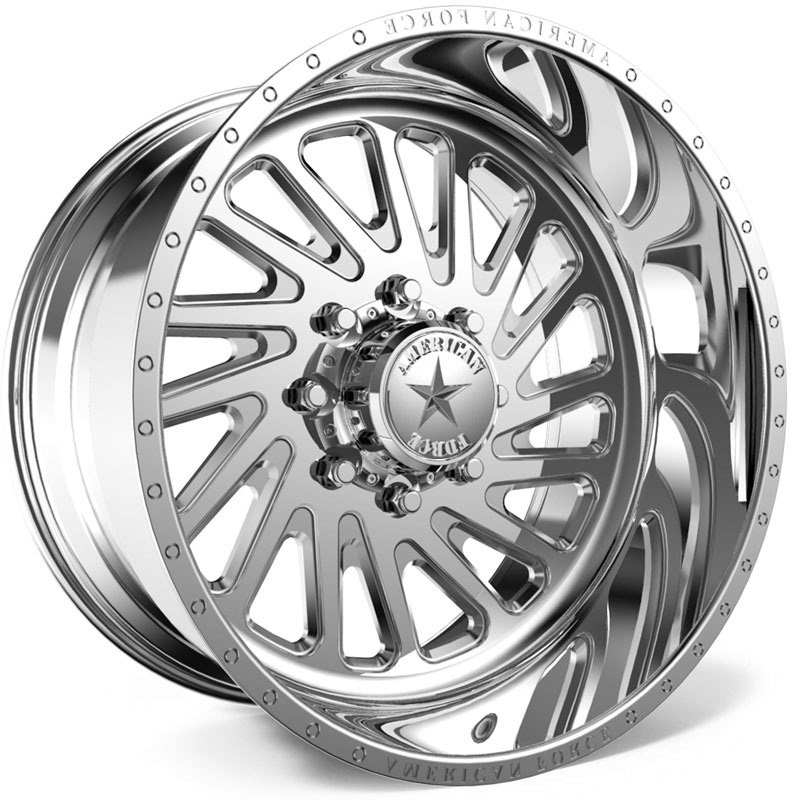 American Force F111 Blitz SS6  Wheels Polished