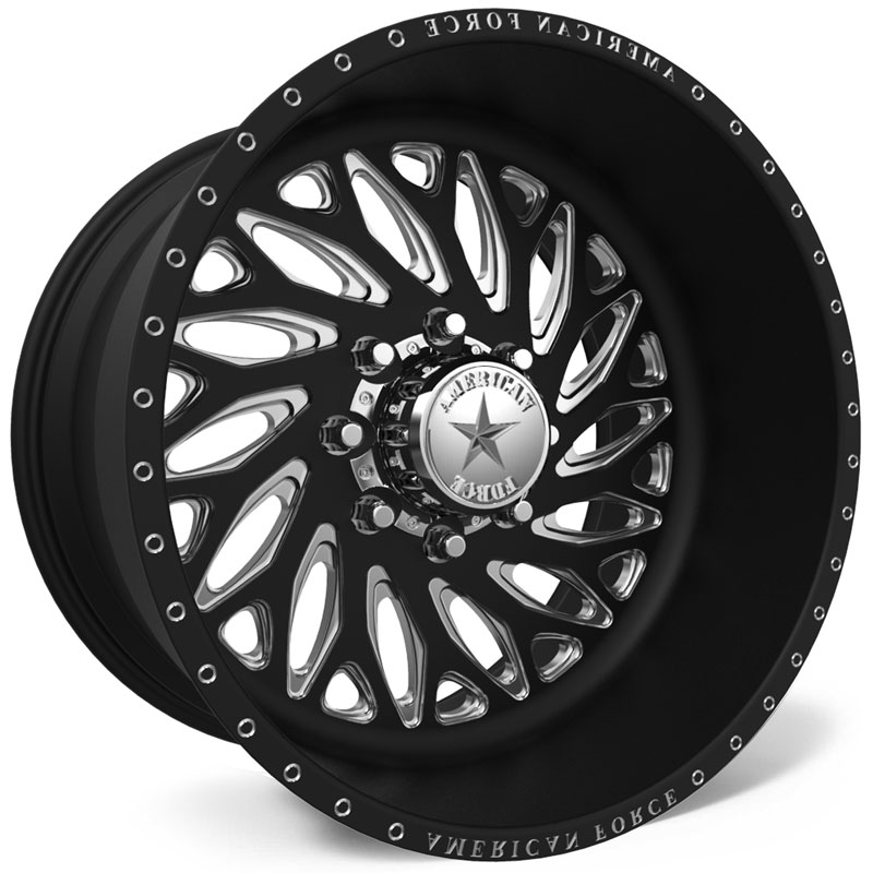 American Force F112 Rift SS8  Wheels Black