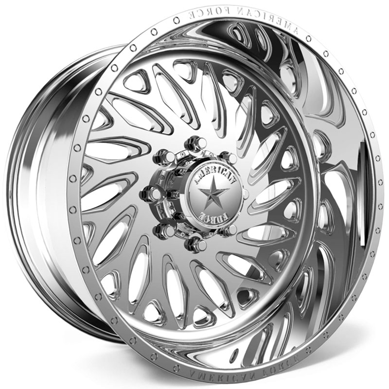 American Force F112 Rift SS8  Wheels Polished