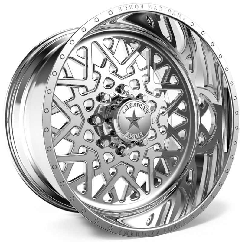 American Force F113 Static SS8  Wheels Polished