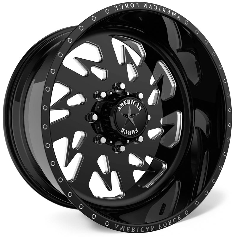 American Force G14 Sideways SS8  Wheels Black