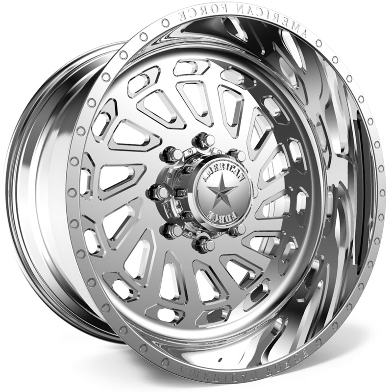 20x10 American Force Wheels G23 Zero SS5 Polished REV