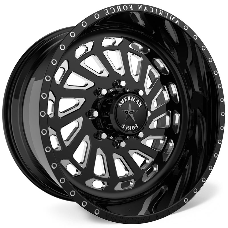 American Force G23 Zero SS8  Wheels Black