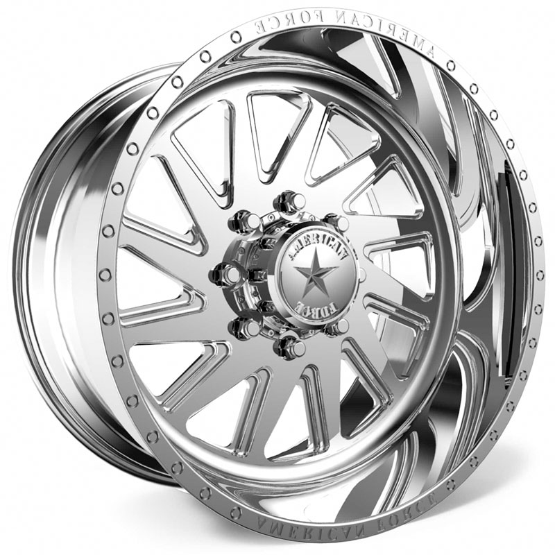 American Force G28 Aka SS5  Wheels Polished