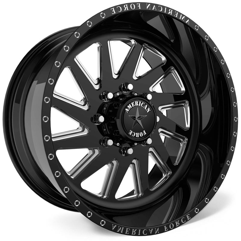 American Force G28 Aka SS8  Wheels Black