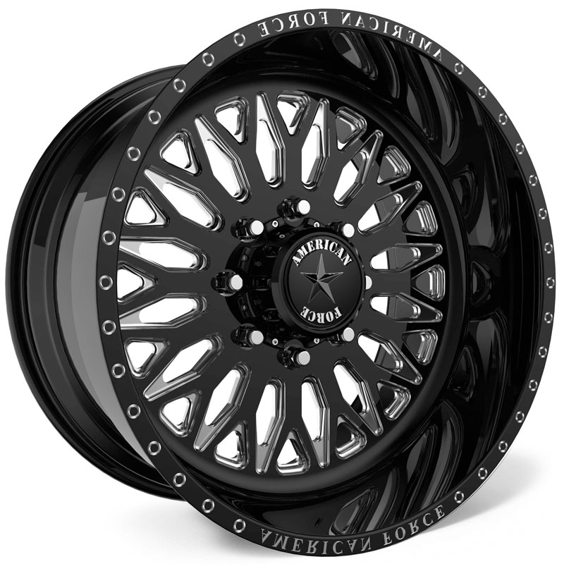 American Force G31 Gamma SS8  Wheels Black