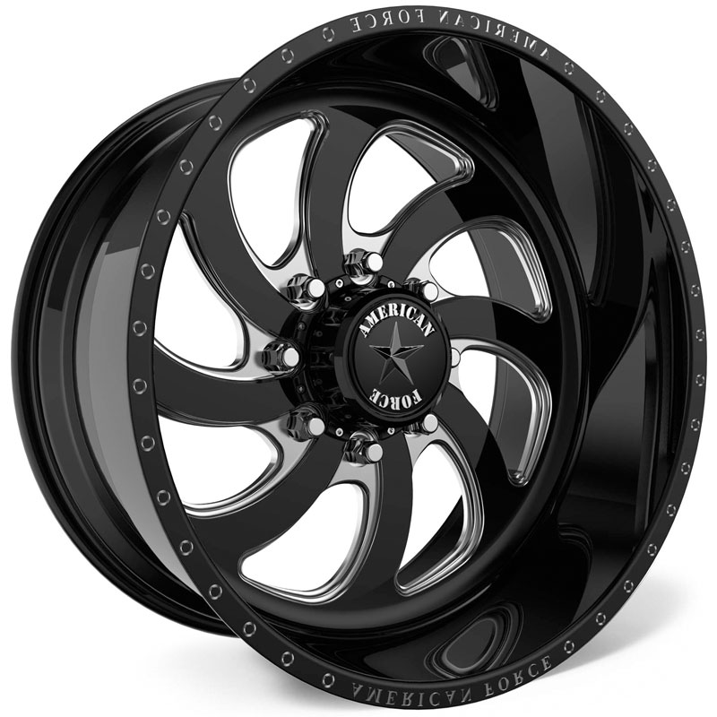 American Force G37 Grip SS8  Wheels Black