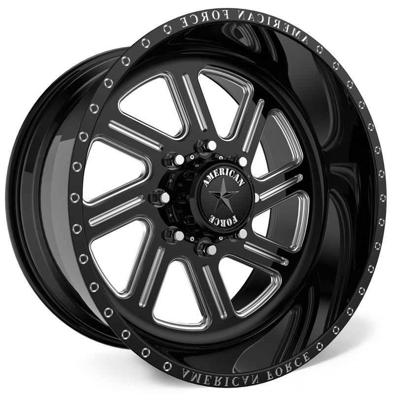 American Force G38 Ikon SS8  Wheels Black