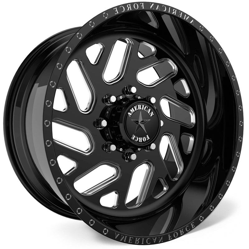 American Force G41 Rook SS8  Wheels Black