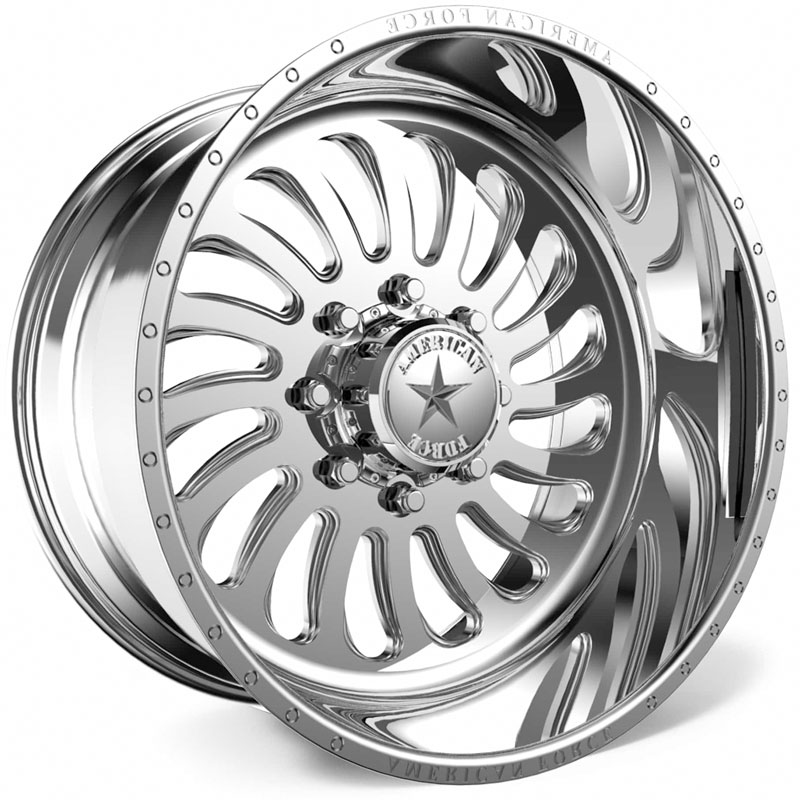 American Force G42 Flex SS6  Wheels Polished