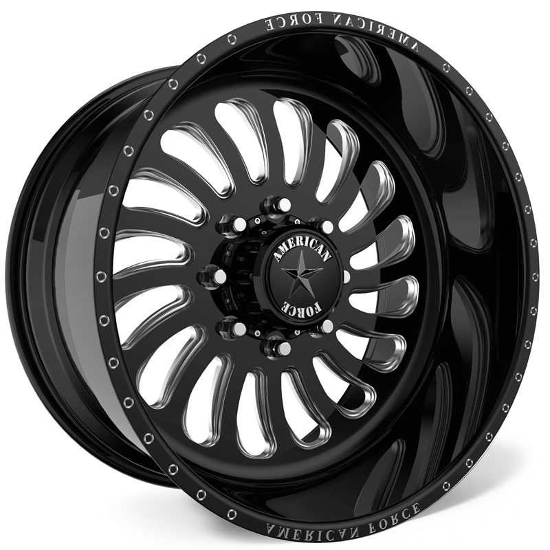American Force G42 Flex SS8  Wheels Black