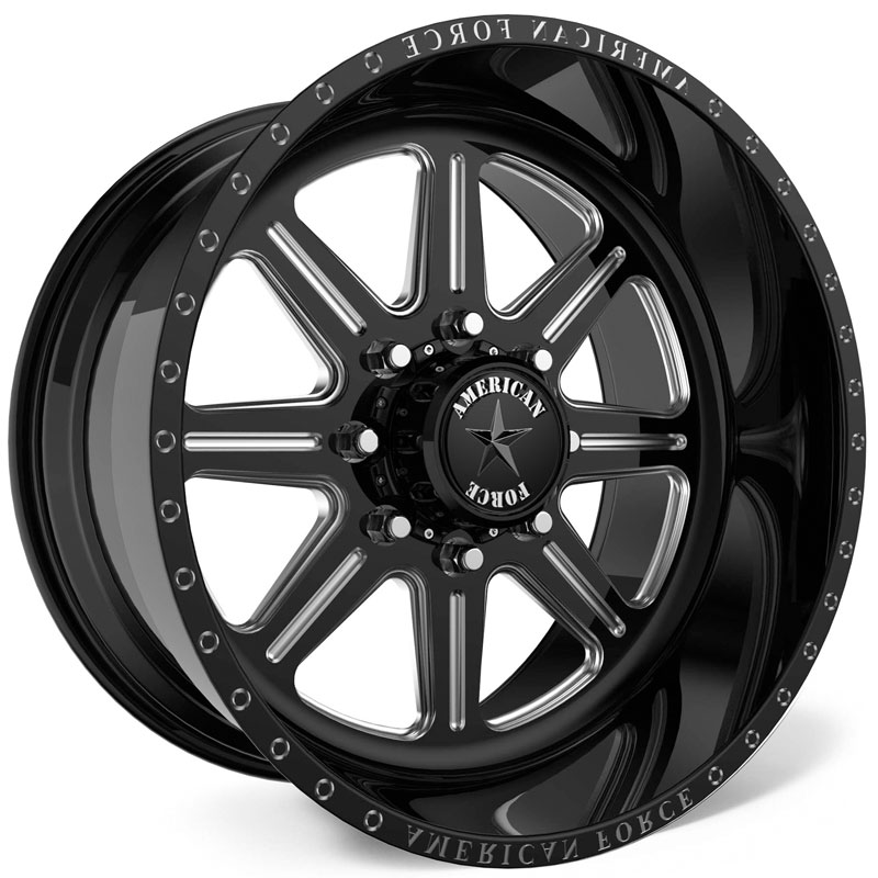 American Force G43 Legend SS8  Wheels Black
