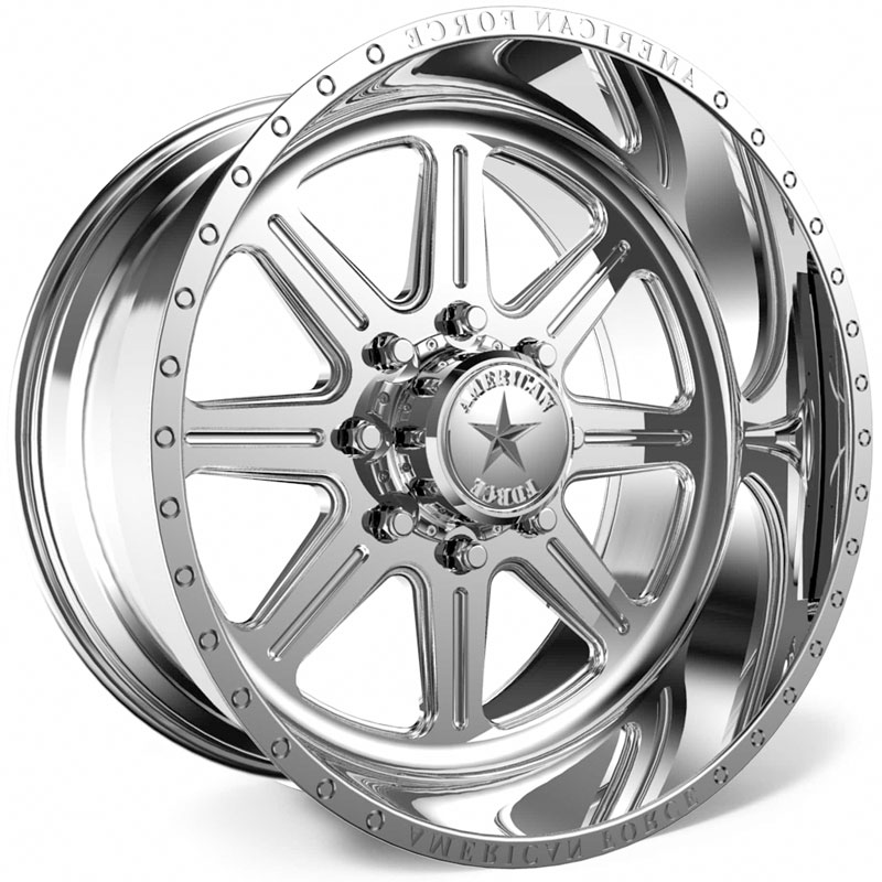 American Force G43 Legend SS8  Wheels Polished