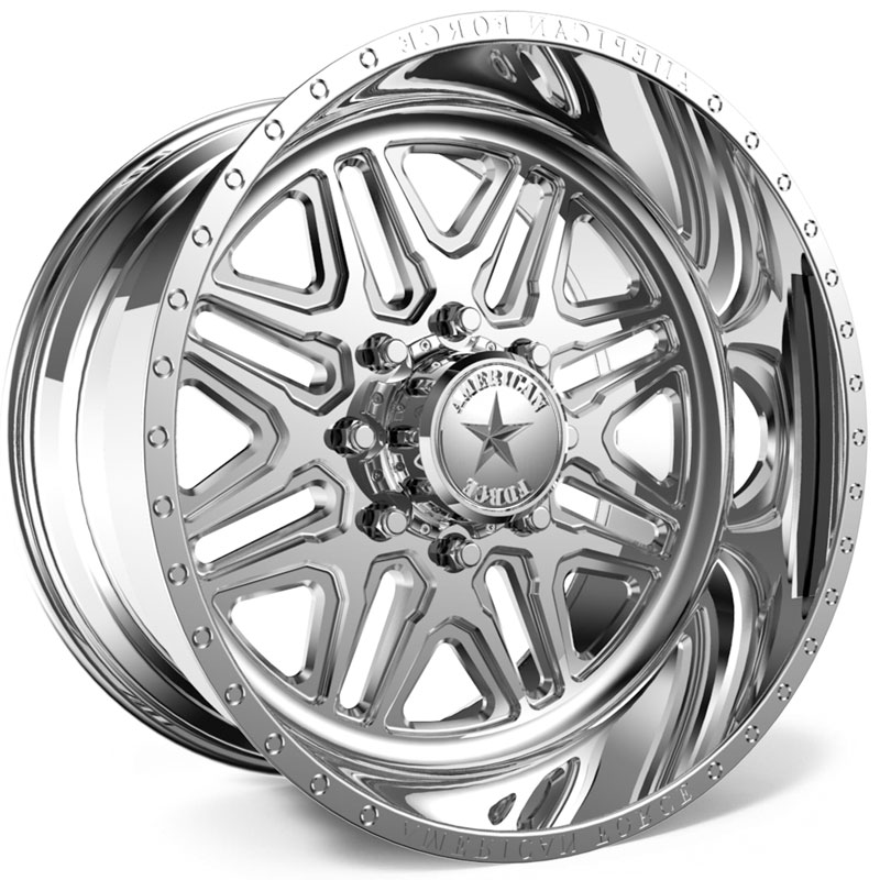 American Force G52 Addict SS6  Wheels Polished