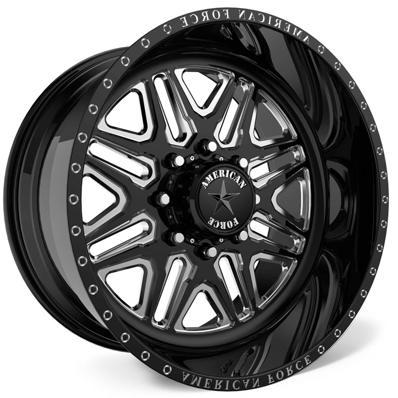 American Force G52 Addict SS8  Wheels Black