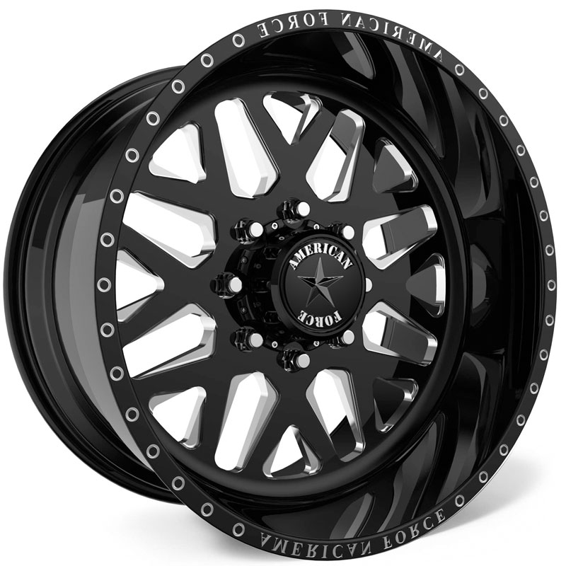 American Force G53 Vibe SS8  Wheels Black
