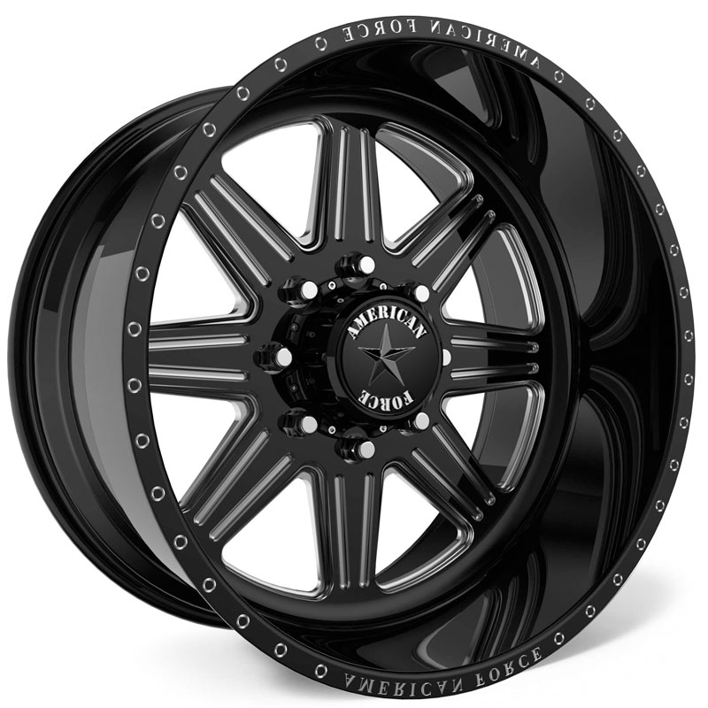 American Force G55 Tempo SS8  Wheels Black