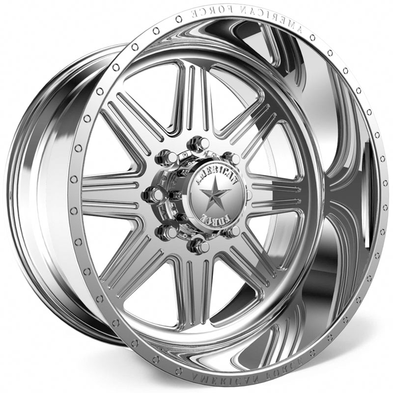 American Force G55 Tempo SS8  Wheels Polished